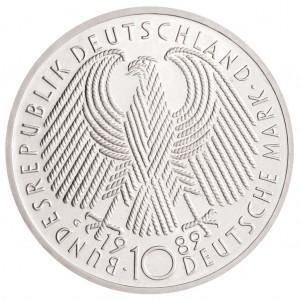 BRD 10 DM Silbermünze