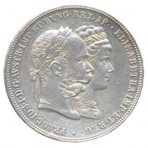 """Österreich Doppelgulden 1879 """"Silberhochzeit"""""""