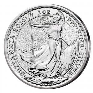 Großbritannien Silbermünze Britannia 2016
