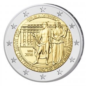 Österreich 2 Euro-Gedenkmünze 2016 - 200. Jahrestag der Gründung der Oesterreichischen Nationalbank