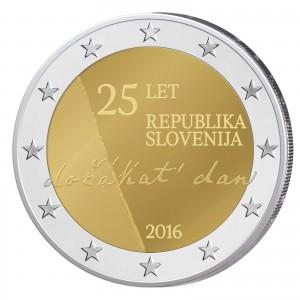 Slowenien 2 Euro-Gedenkmünze 2016 – 25 Jahre Unabhängigkeit