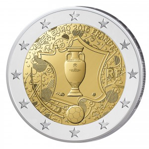 Frankreich 2 Euro-Gedenkmünze 2016 – UEFA EURO 2016