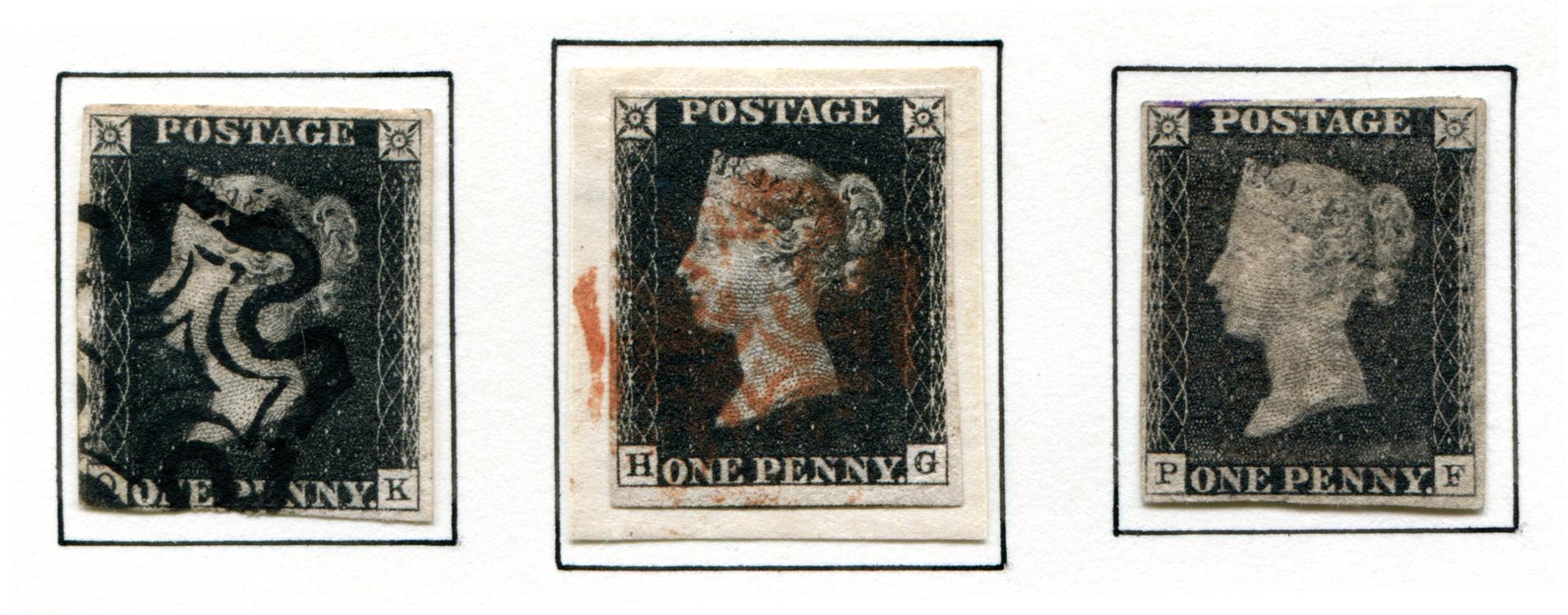 Die Geburtsstunde Der Briefmarke Großbritanniens Penny Black