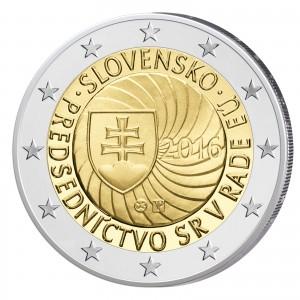 Slowakei 2 Euro-Gedenkmünze 2016 – EU-Ratspräsidentschaft