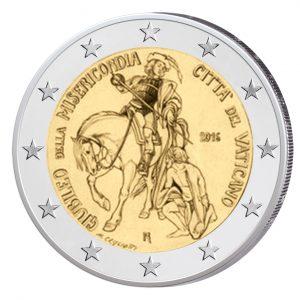 """Vatikan 2 Euro-Gedenkmünze 2016 """"Heiliges Jahr der Barmherzigkeit"""""""