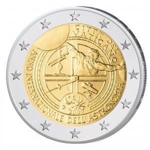 2 Euro-Gedenkmünze 2009 Jahr der Astronomie