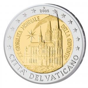 2 Euro-Gedenkmünze 2005 XX. Weltjugendtag Köln