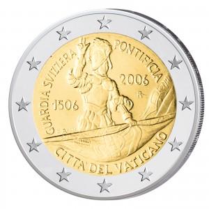 2 Euro-Gedenkmünze 2006 - 500 Jahre Schweizer Garde
