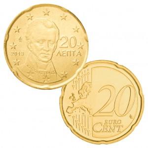 Griechenland 20 Cent Ioannis Kapodistrias