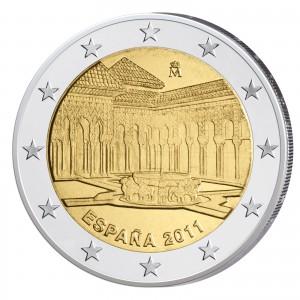 Spanien 2 Euro-Gedenkmünze 2011 - Granada/Alhambra