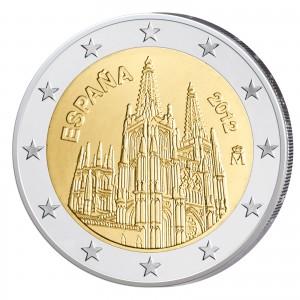 Spanien 2 Euro-Gedenkmünze 2012 - Gotische Kathedrale von Burgos