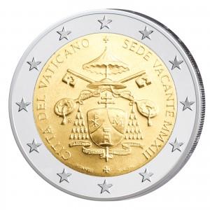 2 Euro-Gedenkmünze 2013 – Sedisvakanz