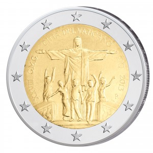 2 Euro-Gedenkmünze 2013 – XXVIII. Weltjugendtag Rio de Janeiro