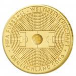 """BRD 100 Euro 2005 """"Zur Fußball-Weltmeisterschaft 2006 in Deutschland"""""""