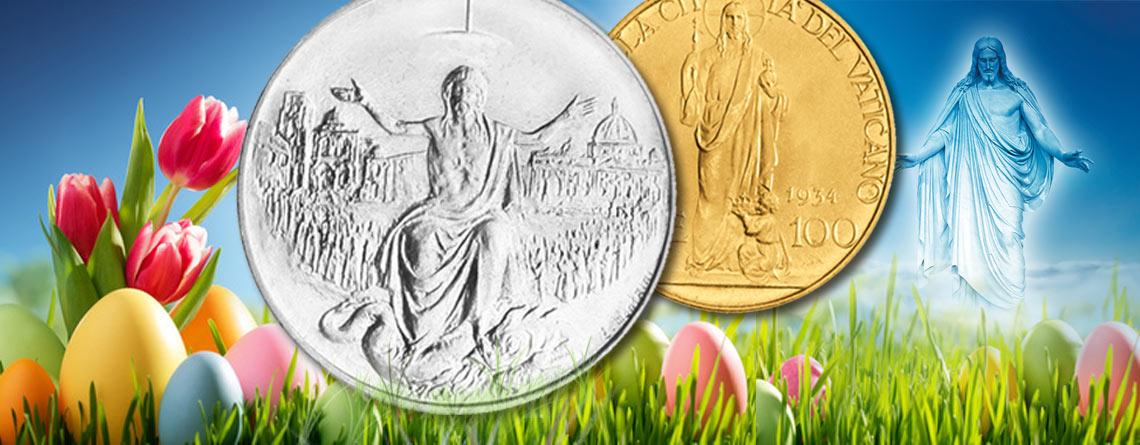 Vatikan Ostern Die Auferstehung Als Numismatisches Thema Primus