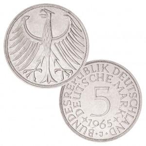 """Silberadler BRD 5 DM - """"Heiermann"""""""