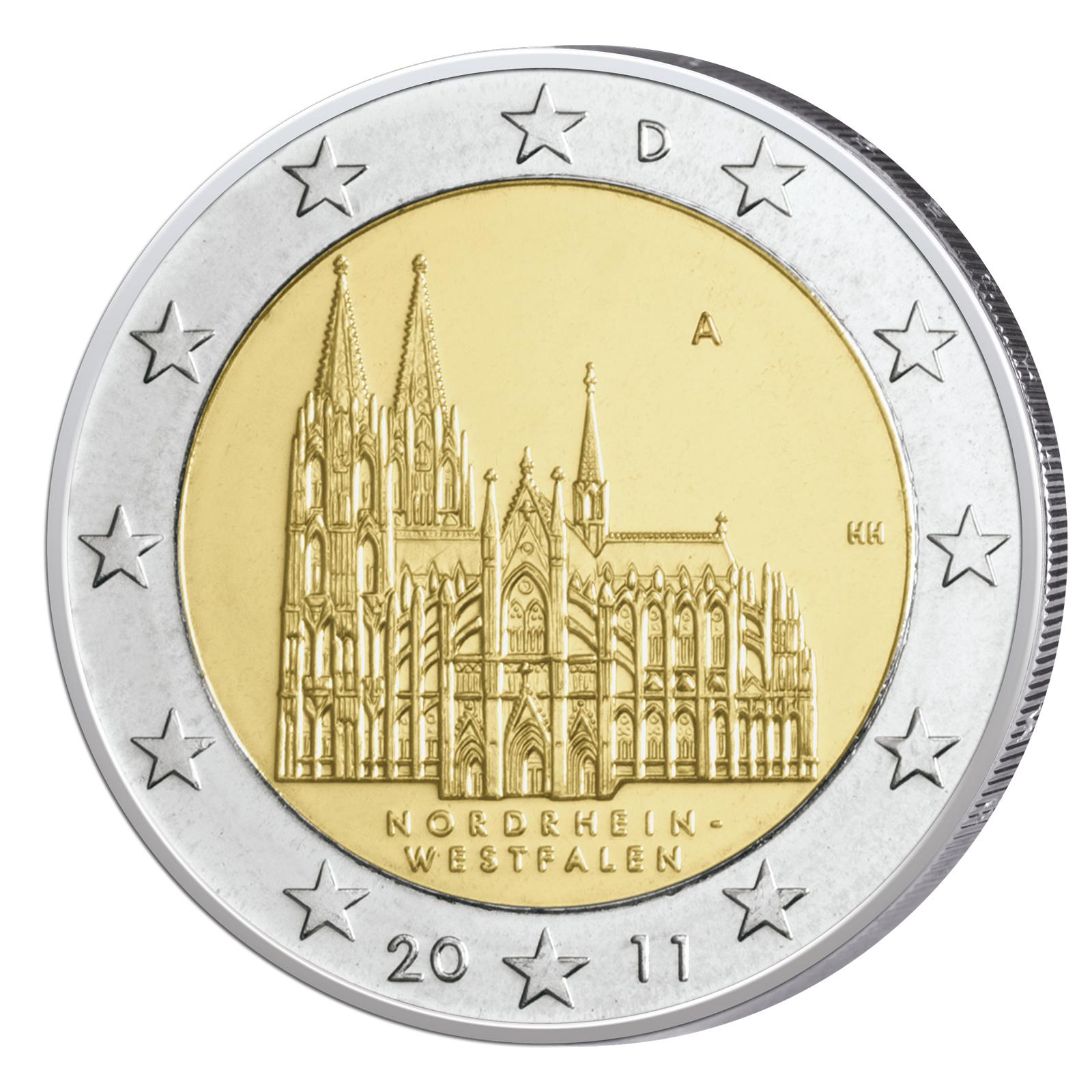 2 Euro Bundesländer Serie
