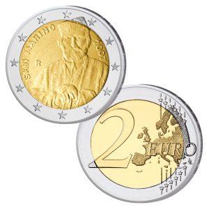 San Marino 2 Euro-Gedenkmünze 2007 Garibaldi