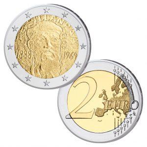 Finnland 2 Euro-Gedenkmünze 2013 125. Geburtstag Frans Eemil Sillanpää