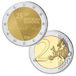 Slowenien 2 Euro-Gedenkmünze 2016 25 Jahre Unabhängigkeit