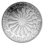"""BRD 10 DM Olympische Sommerspiele 1972 in München/Strahlenspirale """"München"""""""
