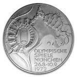 BRD 10 DM Olympische Sommerspiele 1972 in München/Olympiastadion