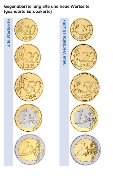 Euro Umlaufmünzen Technische Daten Gestaltung Primus Münzen Blog