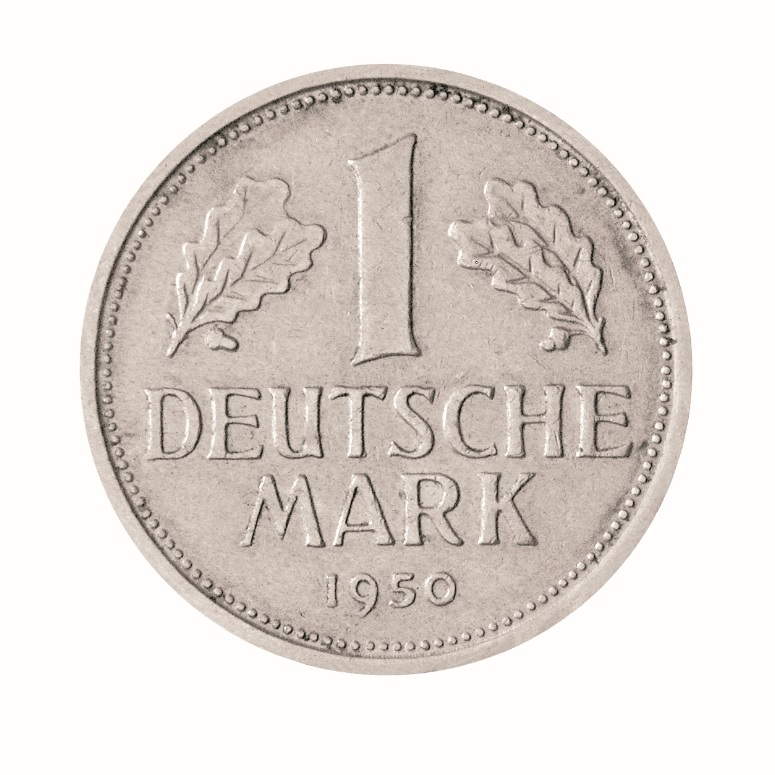 1 deutsche mark 1950 d
