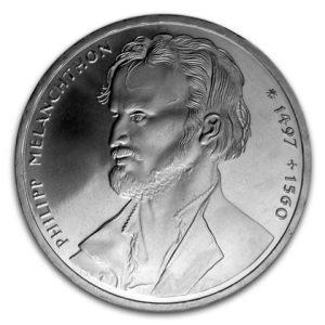 BRD 10 DM 1997 200. Geburtstag Heinrich Heine, 625er Silber, 15,5g, Ø 32,5mm, Jaeger-Nr. 464, Prägestätte D (München), Auflage: 3.000.000, PP: Prägestätten ADFGJ, Auflage je 150.000