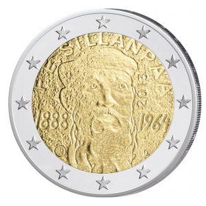 Finnland 2 Euro-Gedenkmünze 2013 125. Geburtstag von Frans Eemil Sillanpää
