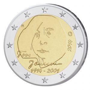 Finnland 2 Euro-Gedenkmünze 2014 100. Geburtstag von Tove Jansson