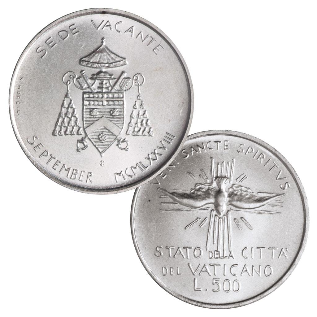 Vatikan Münzen Zur Sedisvakanz Ein Spannendes Sammelgebiet