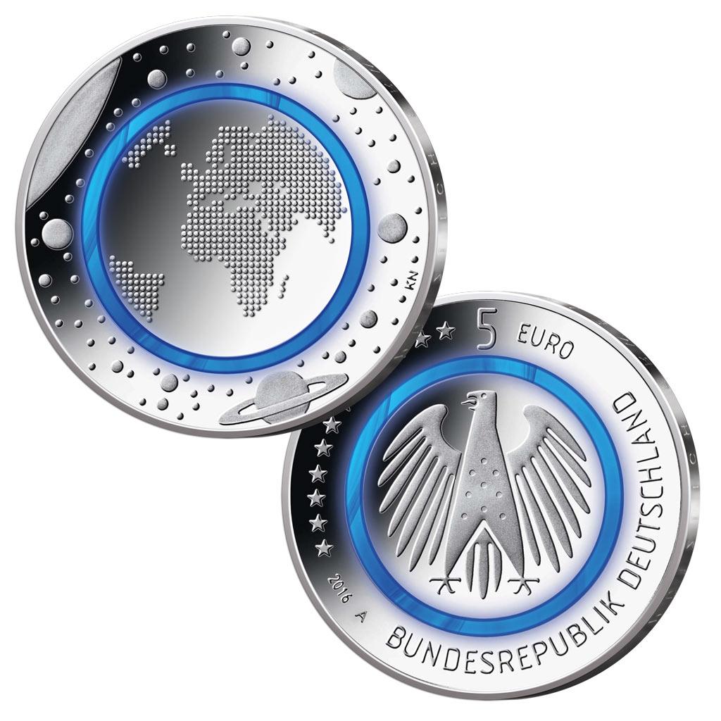 Neue 5 Euro Münze 2017 Bestellen Ausreise Info