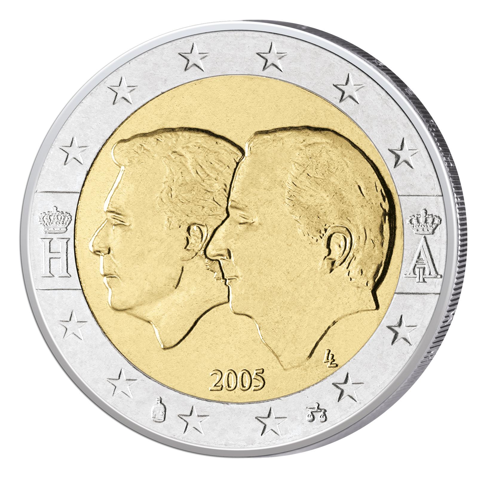 2 Euro Münzen Belgien