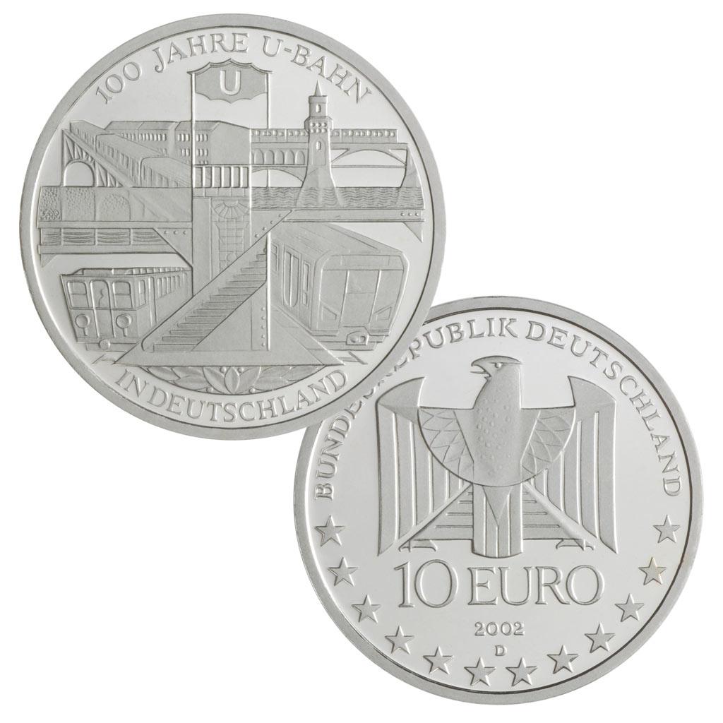 10 Euro Münzen Aus Deutschland 2002 Primus Münzen Blog