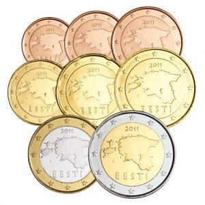 Der erste €-Jahrgang des neuen Euro-Landes Estland