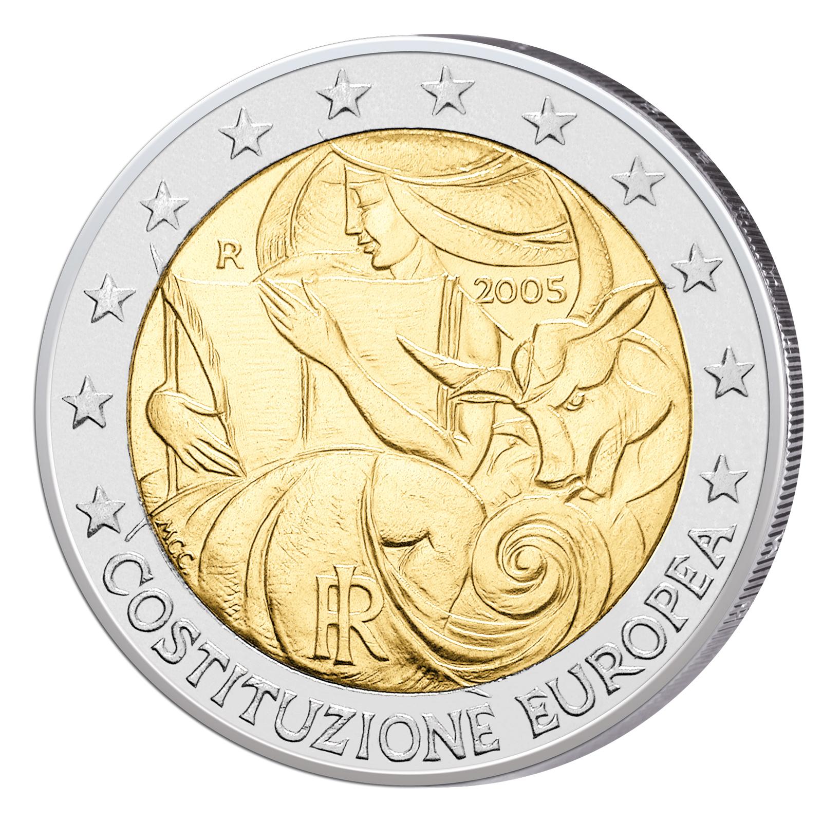 2 Euro Sondermünzen 2005 Primus Münzen Blog