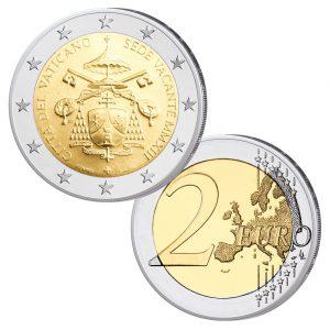"Vatikan 2 Euro-Gedenkmünze 2013 ""Sedisvakanz"""