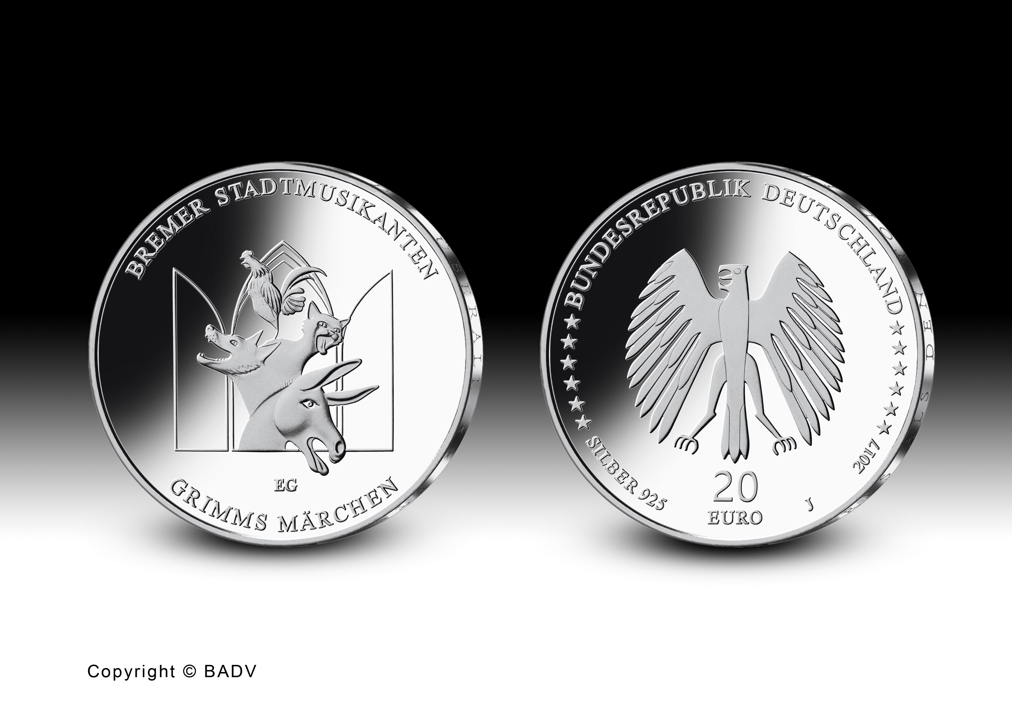 Brd Münzen 2017 Themen Motive Ausgabetermine Gedenkmünzen 2017
