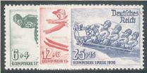 Deutsches Reich Mi.Nr. 600/02 (Ausgabe 25. November 1935)