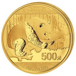 China Panda Goldmünze 2016 30 Gramm