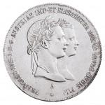 1 Gulden Franz-Joseph I. Vermählung mit Elisabeth