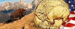 10 Jahre American Buffalo – 2006 bis 2016, ein Jahrzehnt 1 Unze reines USA Gold Büffel