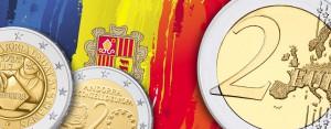 Andorra 2 Euro Münzen