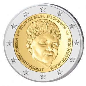 "Belgien 2 Euro-Gedenkmünze 2016 ""Child Focus – Tag der vermissten Kinder"""