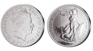 Großbritannien Britannia 1 Unze Silber 2006
