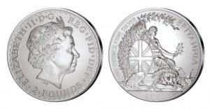 Großbritannien Britannia 1 Unze Silber 2007