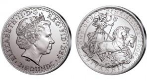 Großbritannien Britannia 1 Unze Silber 2009