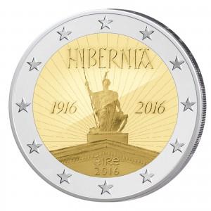 """Irland 2 Euro-Gedenkmünze 2016 """"100. Jahrestag des Osteraufstandes 1916"""" (Motiv)"""