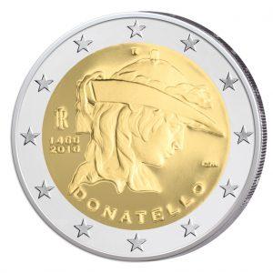 Italien 2 Euro-Gedenkmünze 2016 – 550. Todestag von Donatello